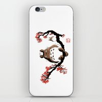 Mon Voisin T. iPhone & iPod Skin