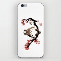 Mon Voisin T. iPhone & iPod Skin