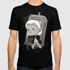 1st Doctor Black SMALL Mens Fitted Tee