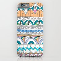 Tribal Lines #4 iPhone 6 Slim Case