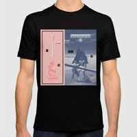 Left of the Limb (Kaneda) Mens Fitted Tee Black SMALL