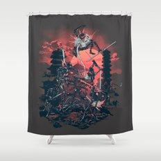The Showdown Shower Curtain