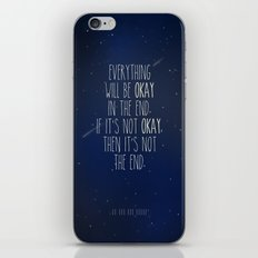 The Fault In Our Stars iPhone & iPod Skin