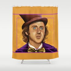 The Wilder Wonka Shower Curtain
