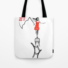 drop dead gorgeous - fall Tote Bag