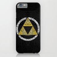 Zelda - Triforce Circle iPhone 6 Slim Case