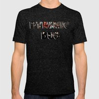 Dynamic Duo Mens Fitted Tee Tri-Black SMALL