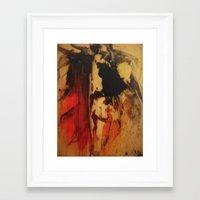 vulcano Framed Art Print