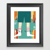 The Shins' Shins Framed Art Print