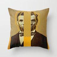 AbracadAbraham - Lincoln Throw Pillow