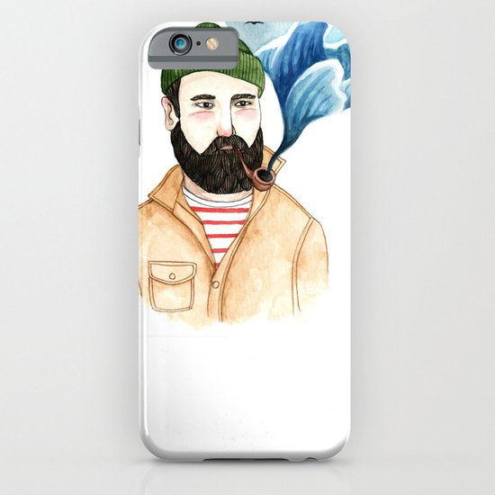 The Sailor and the Sea iPhone & iPod Case