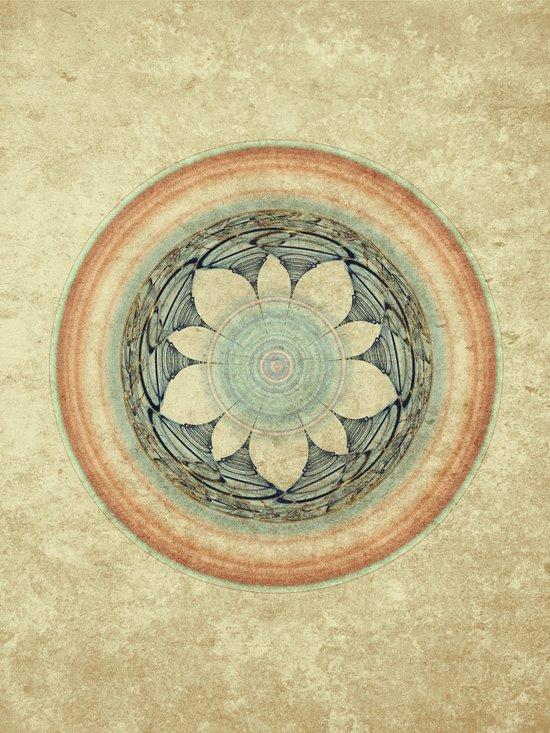Loyalty Mandala Art Print