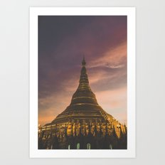 Yangon II Art Print