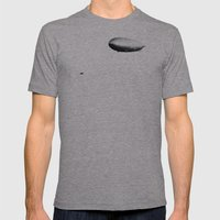 The Tug Of War Mens Fitted Tee Athletic Grey SMALL