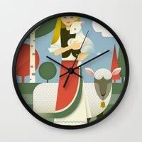 Mary Wall Clock