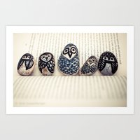 Owly Owl Yeah Art Print
