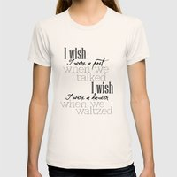 Simple Words Womens Fitted Tee Natural SMALL