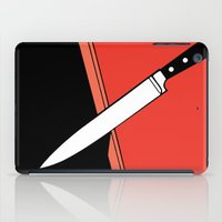 THE KNIFE iPad Case