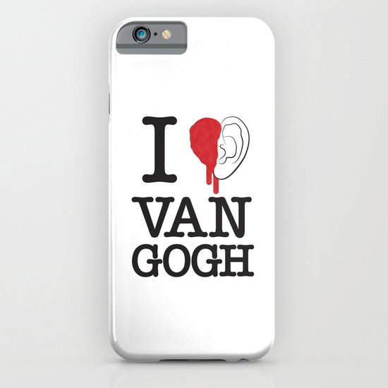 I love Van Gogh iPhone & iPod Case