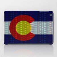 Colorado Flag/Geometric iPad Case