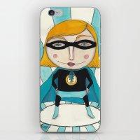 Superheroine iPhone & iPod Skin