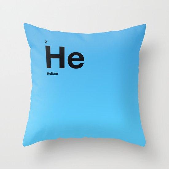Helium Throw Pillow