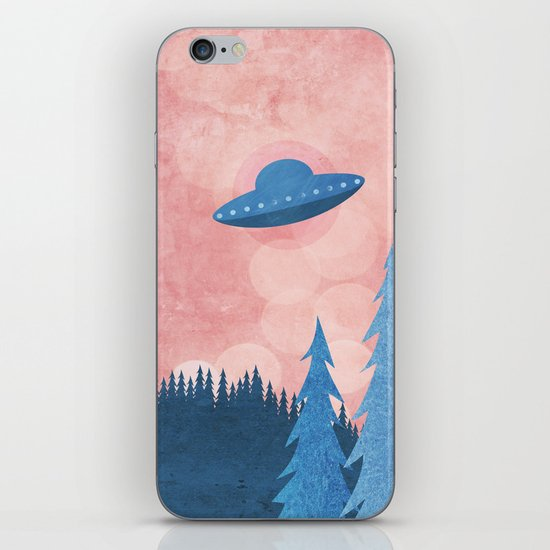Unidentified Flying Object iPhone & iPod Skin