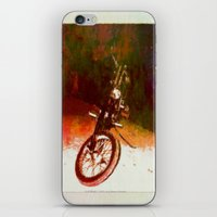 FLATHEAD - 043 iPhone & iPod Skin