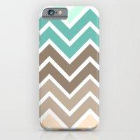 BEACHY CHEVRON iPhone 6 Slim Case