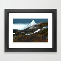 Crucible Crossing Framed Art Print