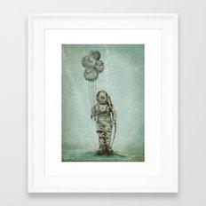 Balloon Fish Framed Art Print