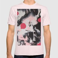 Twelve Mens Fitted Tee Light Pink SMALL