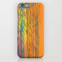 Orange Forest iPhone 6 Slim Case