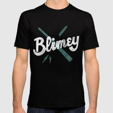 Blimey SMALL Mens Fitted Tee Black