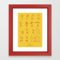 Super Freak Framed Art Print