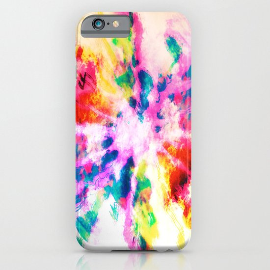 Screaming Clouds iPhone & iPod Case
