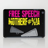 Free speech motherf#%!a iPad Case