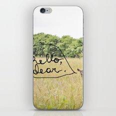 hello, dear iPhone & iPod Skin