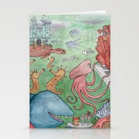 Fish Heaven Stationery Cards