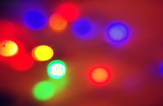 Colourful Lights Canvas Print