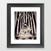 Lil Red Framed Art Print