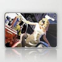 Domino Lady # 5 Laptop & iPad Skin