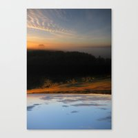 Rivers Of Day & Lakes Of… Canvas Print