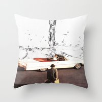 Drive It All Over Me Throw Pillow