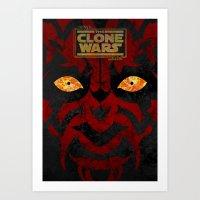 Clone Wars Art Print