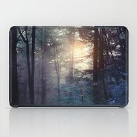 A walk in the forest iPad Case