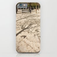 iPhone & iPod Case featuring Tree & Shadow by catzzz