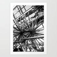 Greenhouse Lines Art Print