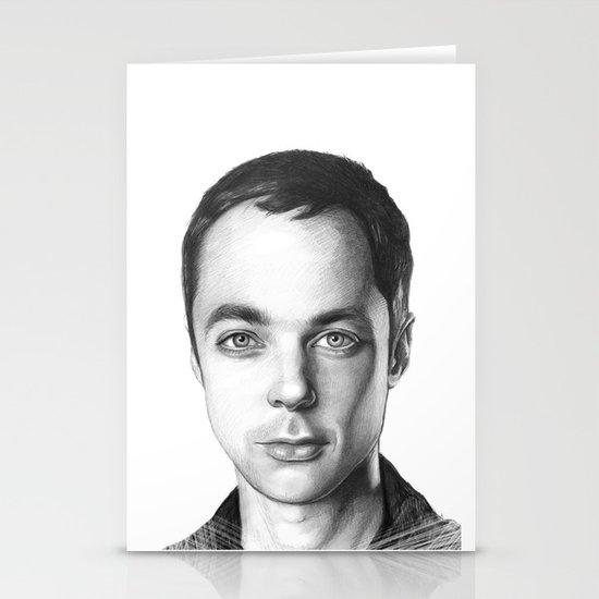 Sheldon Cooper Stationery Card