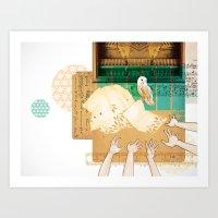 Larks & Owls Art Print